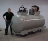 Propane, Combination-Tank Sump Shark -- CP50-300/300CB1