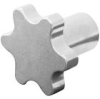 Lobed Hand Wheels & Knobs - Female -- KNS1000A - Image