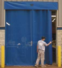Mesh Door, Manual Slide,12 Ft  x 10 Ft -- 1PEG9 - Image