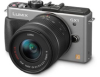 Panasonic Lumix DMC-GX1 Silver 16mp 14-42mm Lens Kit 3in Touchscreen LCD Digital Camera w/ 1080p Full HD Video -- DMC-GX1KS