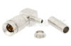 1.0/2.3 Plug Right Angle Connector Crimp/Solder Attachment For RG316-DS, RG188-DS -- PE44783 - Image