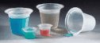 Graduated polystyrene four-spout beaker, 800 mL -- GO-06005-85