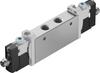 Air solenoid valve -- VUVG-L14-P53E-T-G18-1R8L -Image