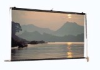 Large Venue Electric Front Projection Screen. -- Motorized Scenic Roller Screen