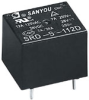 Power Relay -- SY73SRD-S-124D2-C2