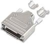 MH CONNECTORS - MHDM-25-K - D SUB HOOD, SIZE DB, STEEL -- 878368