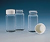 BOTTLES - Scintillation Vial, 20 mL, with White Screw Cap attached, Wheaton `180` Borosilicate Glass 986546, 22, Urea/Polyseal cone -- 1144863