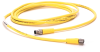 889 Pico Cable -- 889P-F3ABPM-0M3 -- View Larger Image