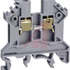 Terminal Block; Feed-Through; DIN Rail;35 mm; 43 mm L x 45 mm H; 6 mm, Gray -- 70078321