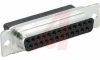 D-SUB Receptacle Housing; Tin Plated; 25 Contacts; Crimp-Snap -- 70082675 - Image