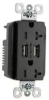 Combination Switch/Receptacle -- TR-5362USB - Image