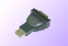 Displayport w/o Latch Male to DVI Female Adapter -- Series = DPC - Image