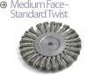Knotted Wire Wheel Brush -- BTS-10 - Image