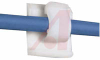 ADHESIVE CORD CLIP; .62IN MAX BUNDLE DIAMETER -- 70043663