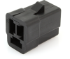 Delphi 2984378 Metri-Pack 3-Way Female Connector, Black, 56 Series -- 38005 -Image