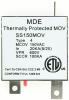 Thermally Protected MOV