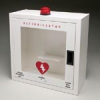 Small Metal Defibrillator Case with Alarm and Strobe
