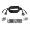 Belkin OmniView All-In-One Pro Series Plus - Video / USB cab -- F3X1962B10