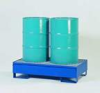 Denios Two-Drum Steel Spill Containment Pallets -- hc-19-900-122