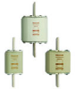 Low Voltage IEC Fuses: NH fuse-links gTr 400VAC top indicator/live tags size 2, 3, 4a -- NH3GTR75KVA-8