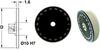 Disc Type Dials (metric) -- S12BM1M038000 -Image