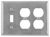 Standard Wall Plate -- NP182AL - Image