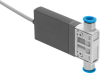 Air solenoid valve -- MHJ10-S-2,5-QS-1/4-HF/LP-U -Image