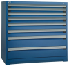 """Heavy-Duty Stationary Cabinet (with Compartments), 8 Drawers (48""""W X 24""""D X 46""""H) -- R5AHE-4409 -- View Larger Image"""