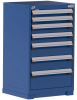 Heavy-Duty Stationary Cabinet (with Compartments), 7 Drawers (24