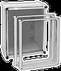 Transparent Screw Cover Enclosures - APO - NEMA 4X -- A1-706E2CT