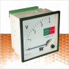 Moving Coil Meter with Relay Contacts -- PQC