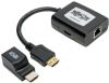 HDMI over Cat5/Cat6 Extender Kit, Power over Cable, 1080p @ 60 Hz, TAA -- B126-1P1M-U-POC