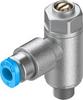 One-way flow control valve -- GRLZ-M5-QS-3-D -Image