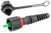 IP68 Rated SC Connector, SMF, APC, 4.8mm Crimp Sleeve, with Dust Cap -- FOC-IPSCSA-48D