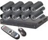 Q-See 16-Channel DVR with 8 CCD Cameras and 1TB HDD -- QT526-835-1N