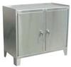 Storage Cabinet,SS,2 Door,34x36x36 -- 18H217