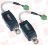 ABUS TV8740 ( VIDEO TRANSMISSION SET, 2WIRE, 600M CABLE LENGTH VIDEO TRANSFER, CAT5 UTP CABLE TYPE ) -Image