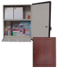 Wooden Laminate Exterior Wall Mount Medication Cabinet,.. -- WL2790