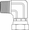 Pipe Swivel Elbow 90° -- 1501-12-16-Image