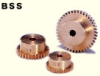 10mm PD Brass Spur Gear -- BSS0.5-20 - Image