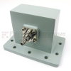 WR-284 to SMA Female Waveguide to Coax Adapter UDR32 Standard with 2.6 GHz to 3.95 GHz in Aluminum -- SMW284AC
