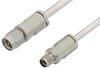 3.5mm Male to 3.5mm Female Cable 60 Inch Length Using PE-SR402AL Coax, LF Solder, RoHS -- PE34580LF-60 -Image