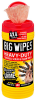 Big Wipes Heavy Duty Wipes 8 in x 12 in, Tub of 80 -- 6002 0046 -Image