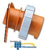 Leviton 125/250 AC 2P3W Wiring Watertight Pin and Sleeve.. -- 420B12W