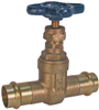Gate Valve – Bronze, 200 PSI, Non-Rising Stem -- PF113