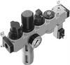 LFR-1/8-D-MINI-KG-A Service unit combination -- 185780