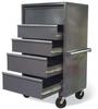 Mobile Drawer Cabinet -- 3.65.6-320-5DB-FLP-CA -- View Larger Image