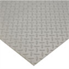 Wearwell Diamond Plate Switchboard Matting, 3 ft x 75' Gray -- EW-55555-48