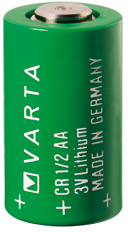 Dispoable Battery from Varta Microbattery Inc.