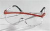 S1299C - Uvex by Honeywell Astrospec 3000 Eyewear, Clear Lens, Blue Frame -- GO-86321-10 -- View Larger Image
